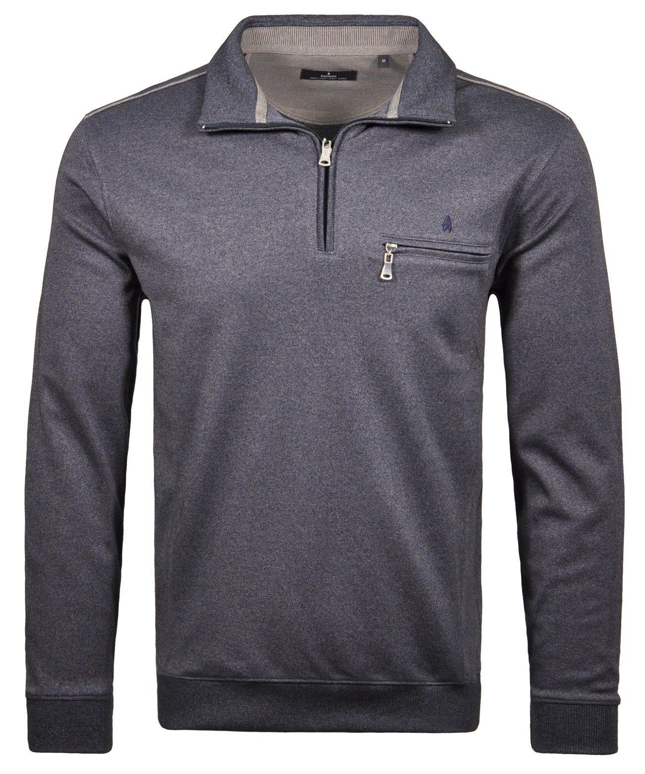 RAGMAN Sweatshirt | Bekleidung > Sweatshirts & -jacken > Sweatshirts | Blau | RAGMAN