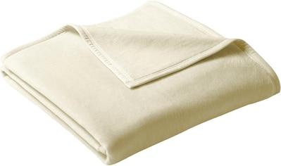BIEDERLACK Wohndecke »Uno Cotton«, in schönen Unifarben kaufen