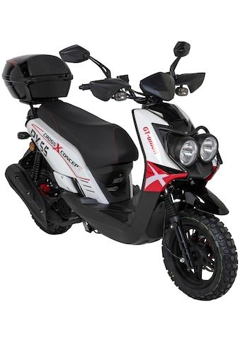 GT UNION Motorroller »PX 55 Cross-Concept«, 3 PS, 50 ccm, 45 km/h, inkl. Topcase kaufen