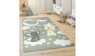 Paco Home Kinderteppich »Chicos 551«, rechteckig, 2 mm Höhe, niedliches Kinder Design,... kaufen