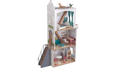 KidKraft® Puppenhaus »Rowan«, mit Balkon und Dachterrasse kaufen