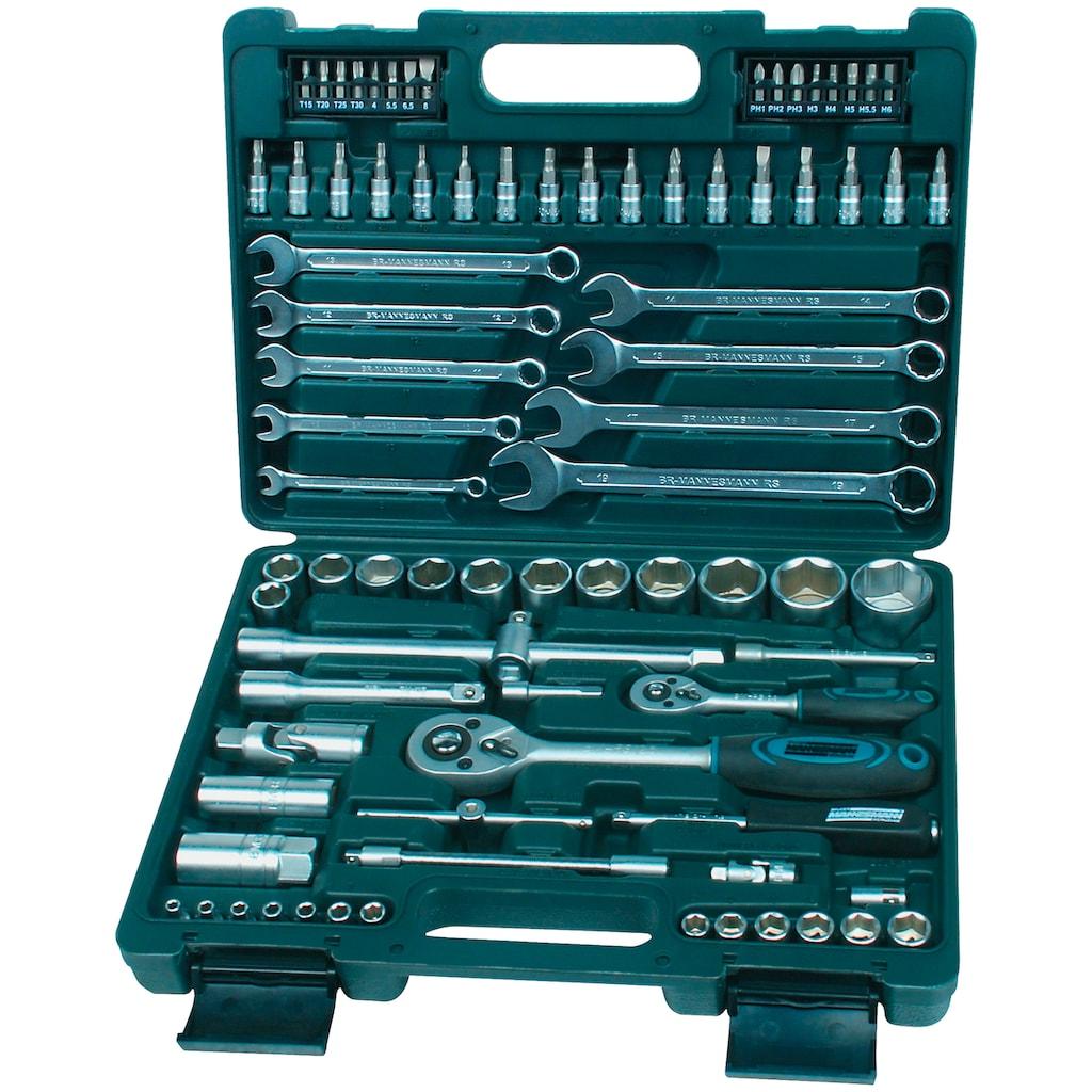 Brüder Mannesmann Werkzeuge Werkzeugset »M29112«, (Set, 82 St.)