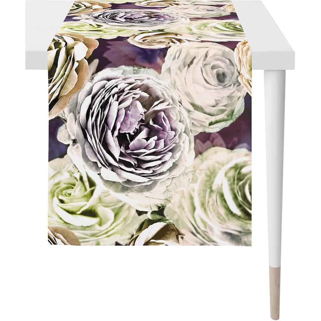 APELT Tischläufer »Anais - Rosenblüten«, (1 St.), Digitaldruck