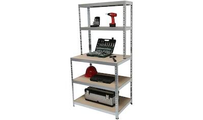 SZ METALL Werkbank 5 Böden, Stahl/Spanplatte kaufen