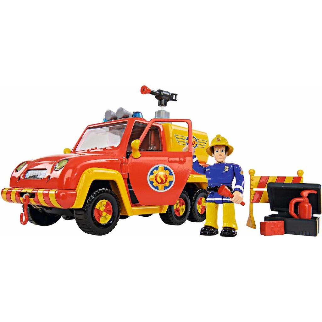 SIMBA Spielzeug-Feuerwehr »Feuerwehrmann Sam, Feuerwehrauto Venus mit Figur«