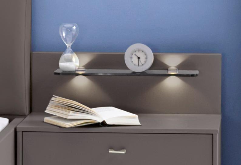 wiemann nachttisch paneel sunset wahlweise mit beleuchtung haustechnik thiel. Black Bedroom Furniture Sets. Home Design Ideas