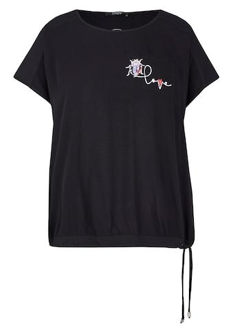 FRAPP T-Shirt, mit unifarbenem Stoff kaufen