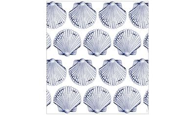 MySpotti Fensterfolie »Look Shells blue«, halbtransparent, glattstatisch haftend, 90 x... kaufen