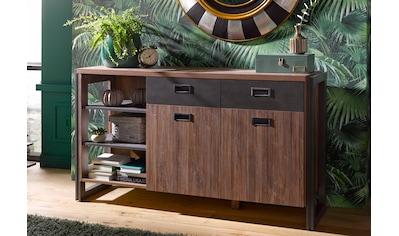 Home affaire Sideboard »Detroit«, Breite 150 cm, im angesagten Industrial Look kaufen
