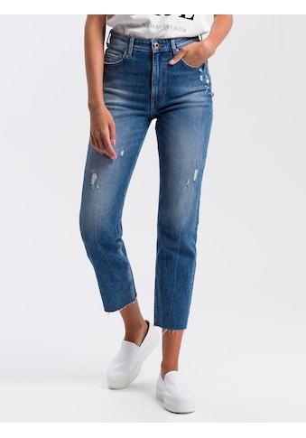 Cross Jeans® 7/8-Jeans »P 476«, Destroyed-Effekte kaufen