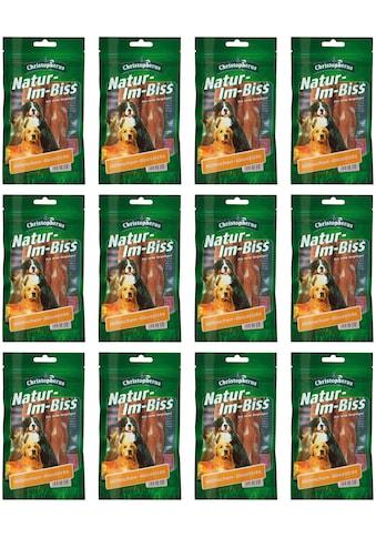 Christopherus Hundesnack »Hähnchenkausticks«, (12), 12 x 70 g kaufen