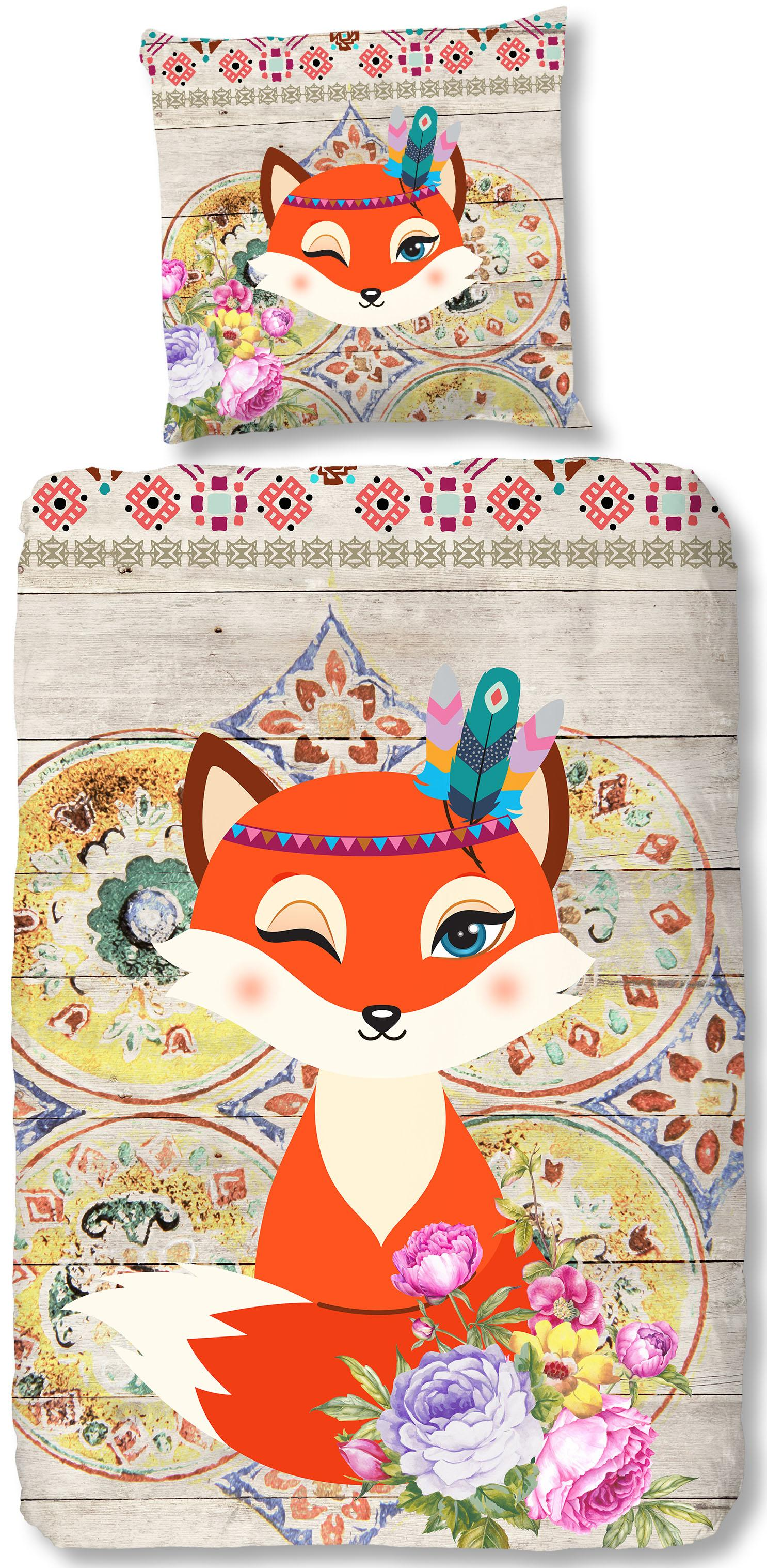 Kinderbettwäsche Foxy good morning