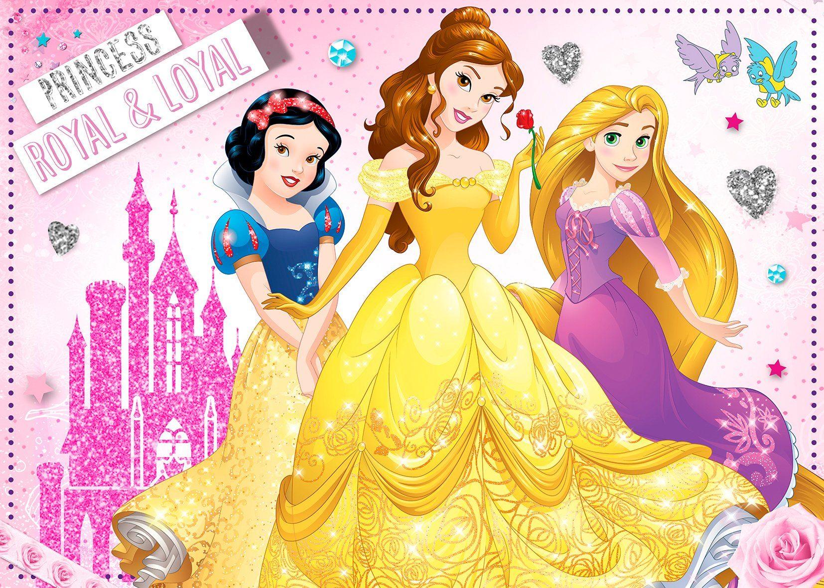 Disney Leinwandbild rosa Leinwandbilder Bilder Bilderrahmen Wohnaccessoires 81618133