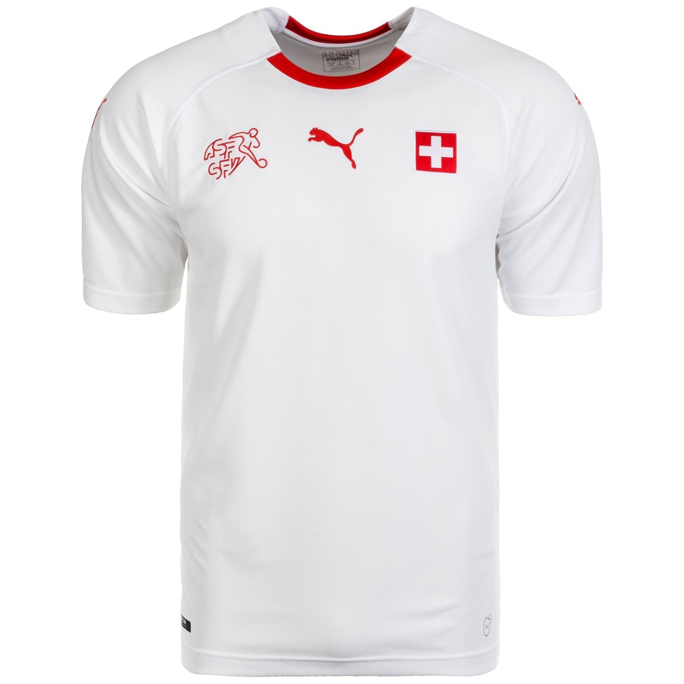 PUMA Fußballtrikot Schweiz 2018 Auswärts   Sportbekleidung > Trikots > Fußballtrikots   Puma