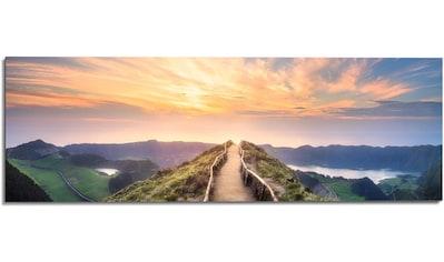 Reinders! Wandbild »Wandbild Morgenröte Berge - Sonnenaufgang - Natur«, Landschaften,... kaufen