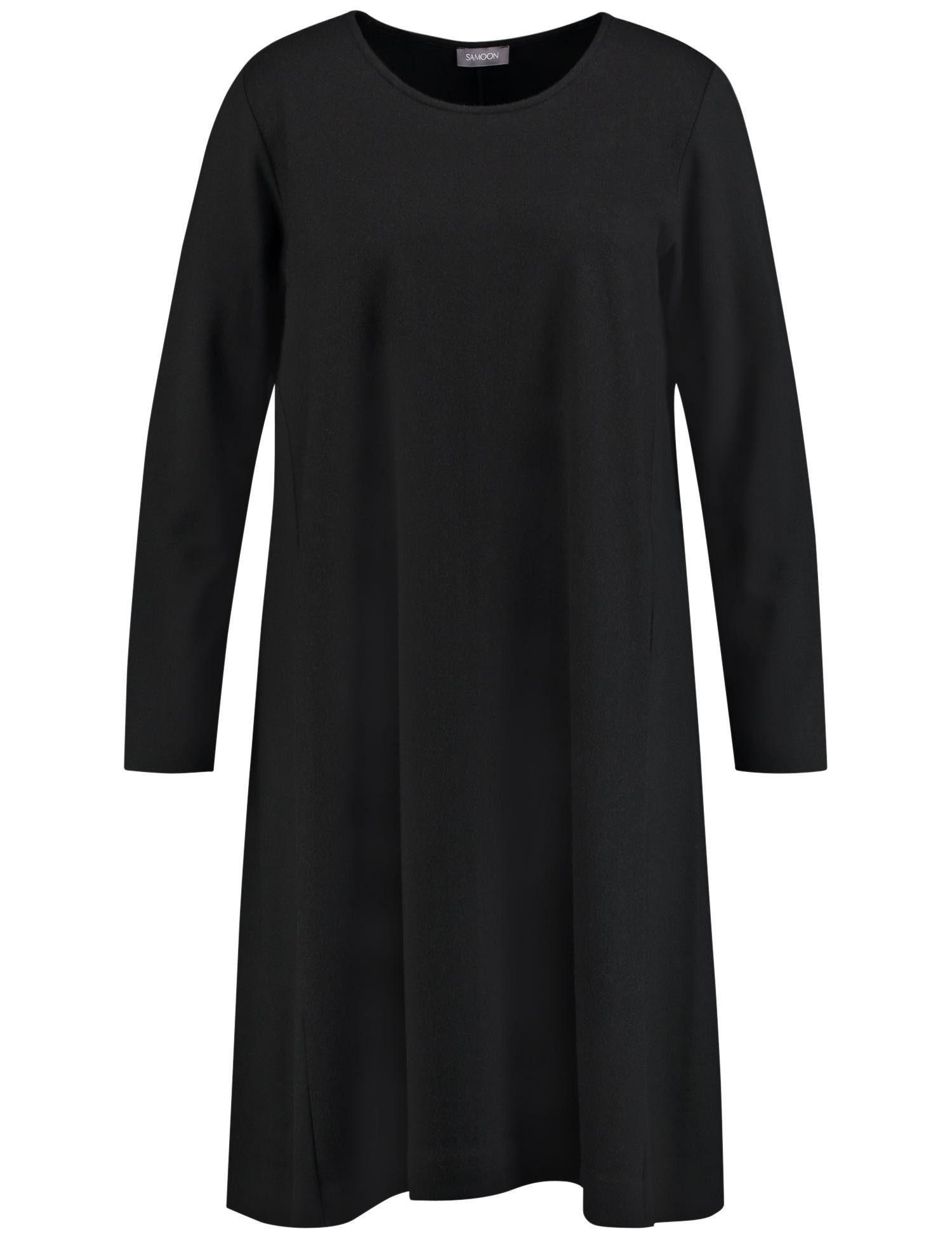 SAMOON Kleid Gewirke Kleid in A-Linie