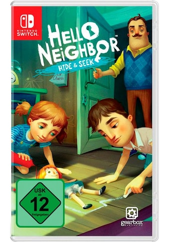 U&I Entertainment Spiel »Hello Neighbor Hide & Seek«, Nintendo Switch kaufen