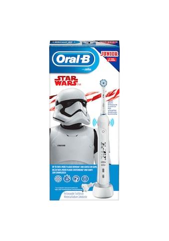 Oral B Elektrische Kinderzahnbürste Junior Star Wars, Aufsteckbürsten: 1 Stk. kaufen