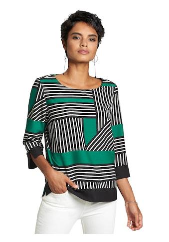 création L Bluse mit breiten Blenden kaufen