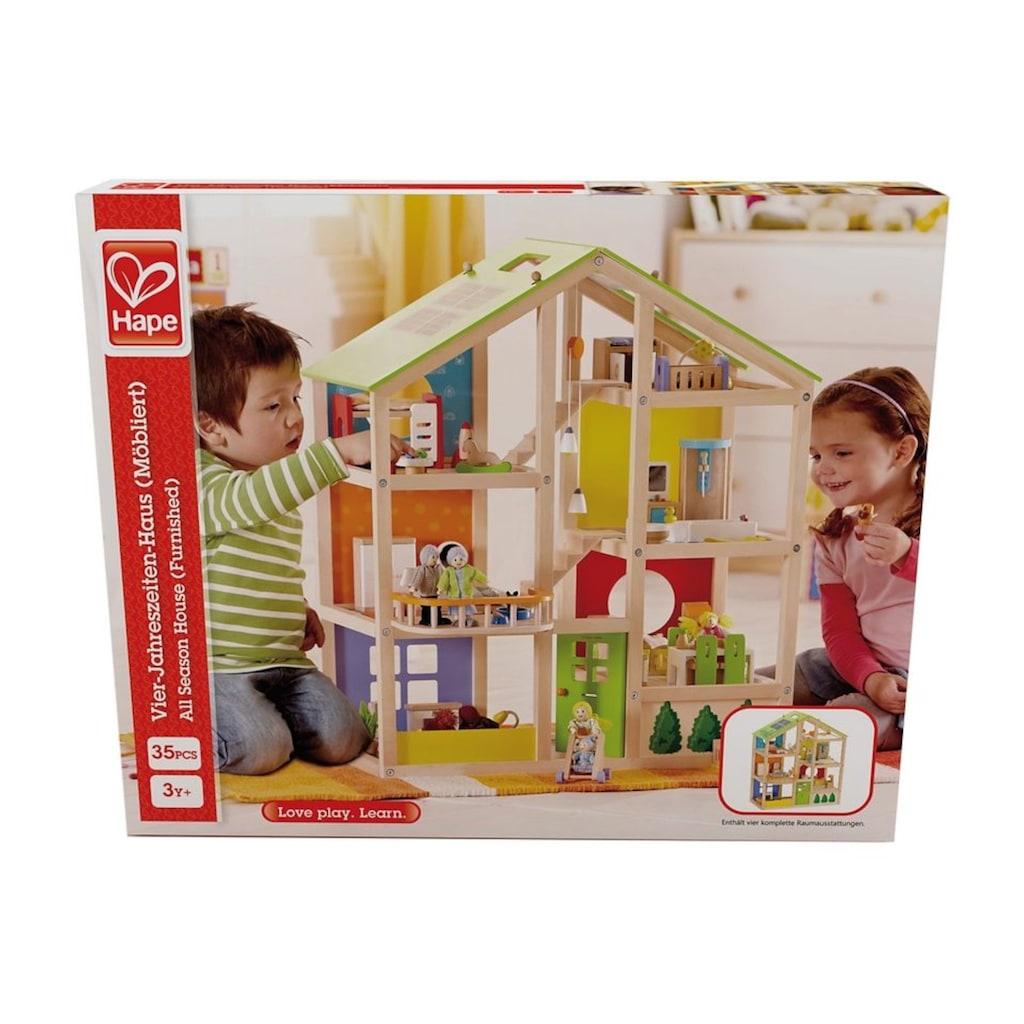 """Hape Puppenhaus """"Vierjahreszeiten"""""""