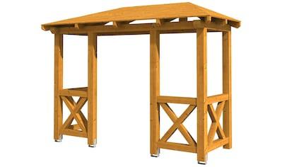 Skanholz Vordach »Wismar 5«, BxTxH: 351x134x266 cm kaufen
