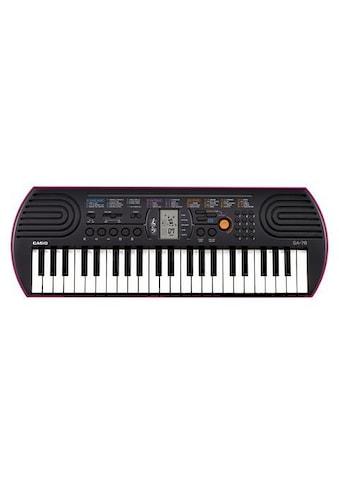 CASIO Keyboard »Mini-Keyboard SA-78«, mit 44 Minitasten kaufen