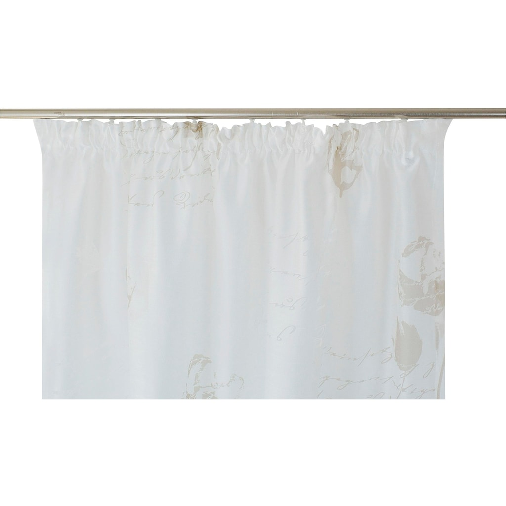 Vorhang, »Nizza«, Kutti, Kräuselband 1 Stück
