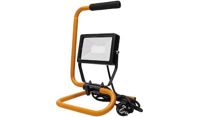 KOPP Flutlichtstrahler Tragbarer 20 Watt LED Baustrahler mit Standgestell kaufen