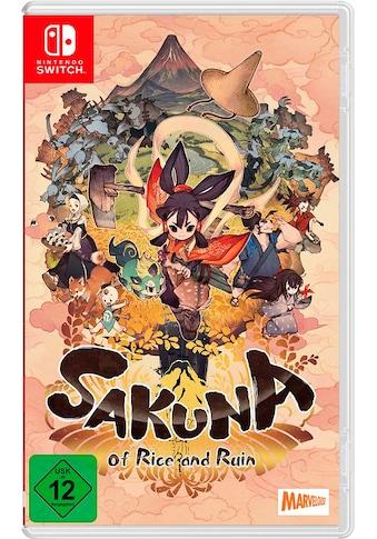 Sakuna: Of Rice and Ruin Nintendo Switch kaufen