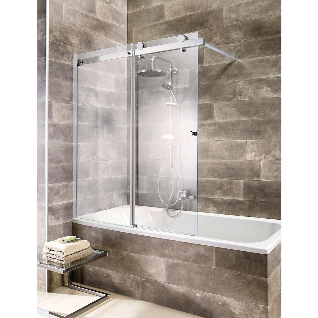 welltime Badewannenaufsatz »Mauritius«, mit Schiebetür