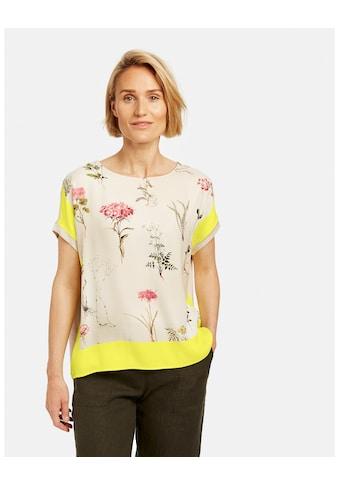 GERRY WEBER Kurzarmshirt »Oversize Shirt mit Blumen« kaufen
