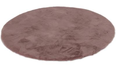 Fellteppich, »Tender«, SCHÖNER WOHNEN - Kollektion, rund, Höhe 26 mm, maschinell gewebt kaufen