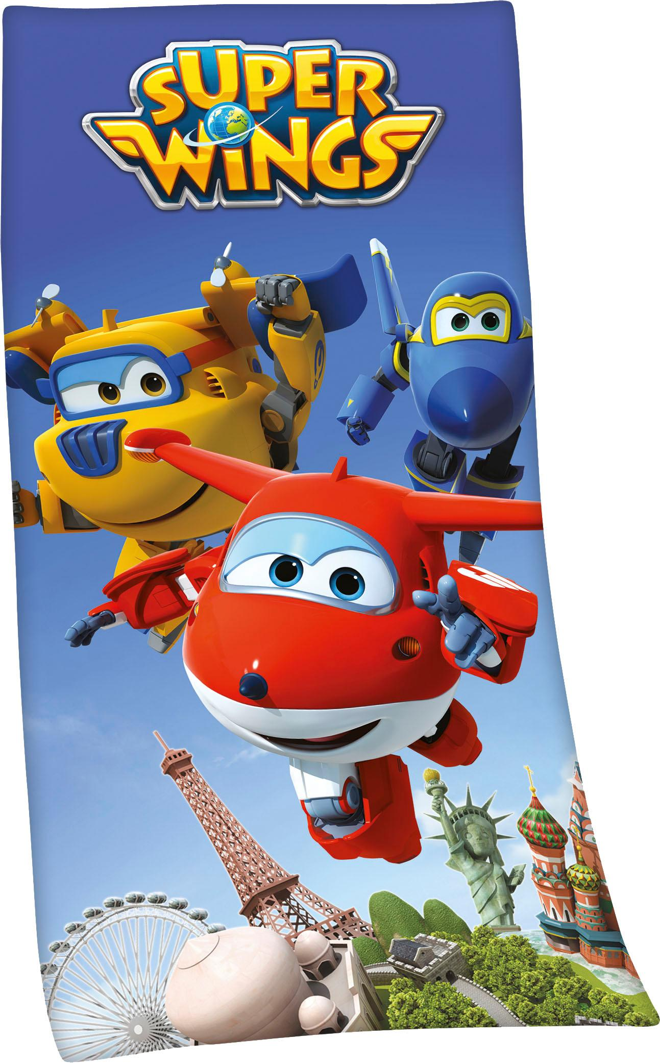 Badetuch ´´Super Wings´´
