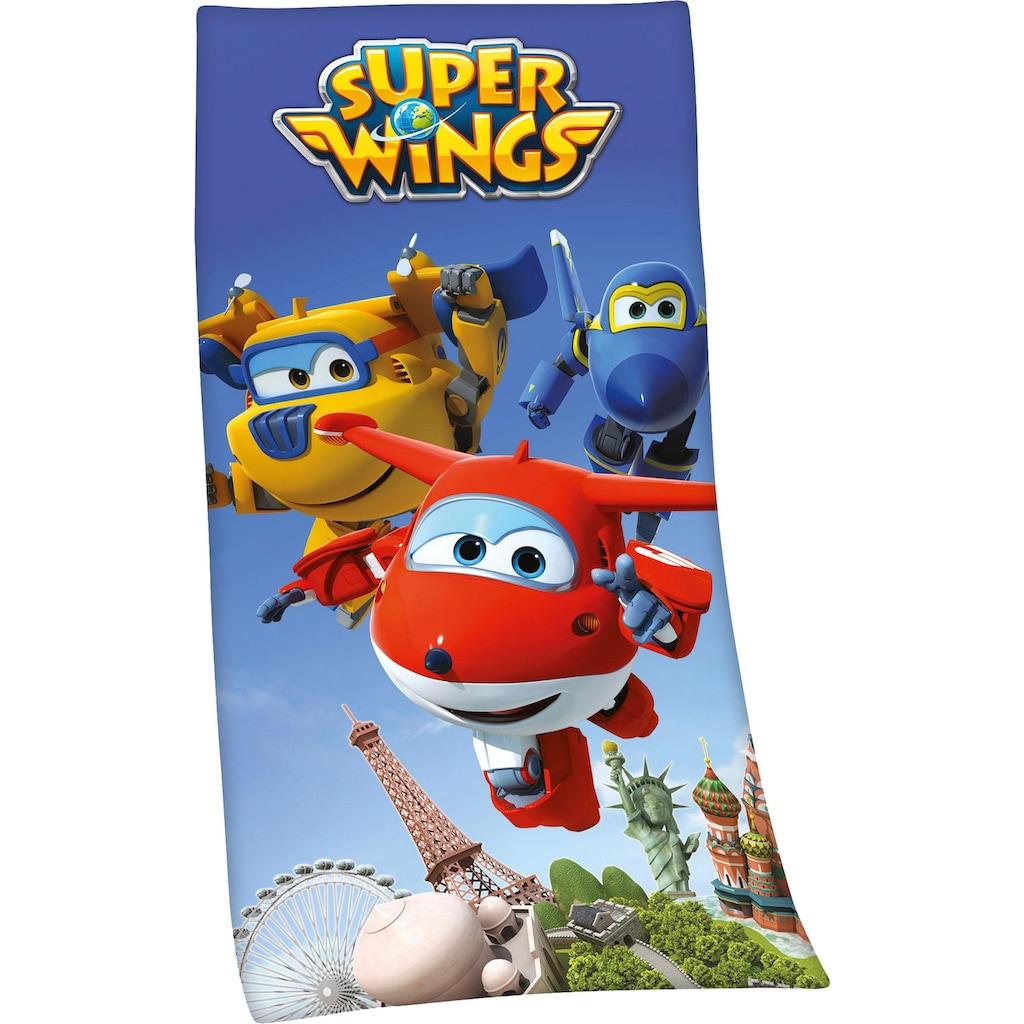 Badetuch »Super Wings«, (1 St.), mit Super Wings Motiv