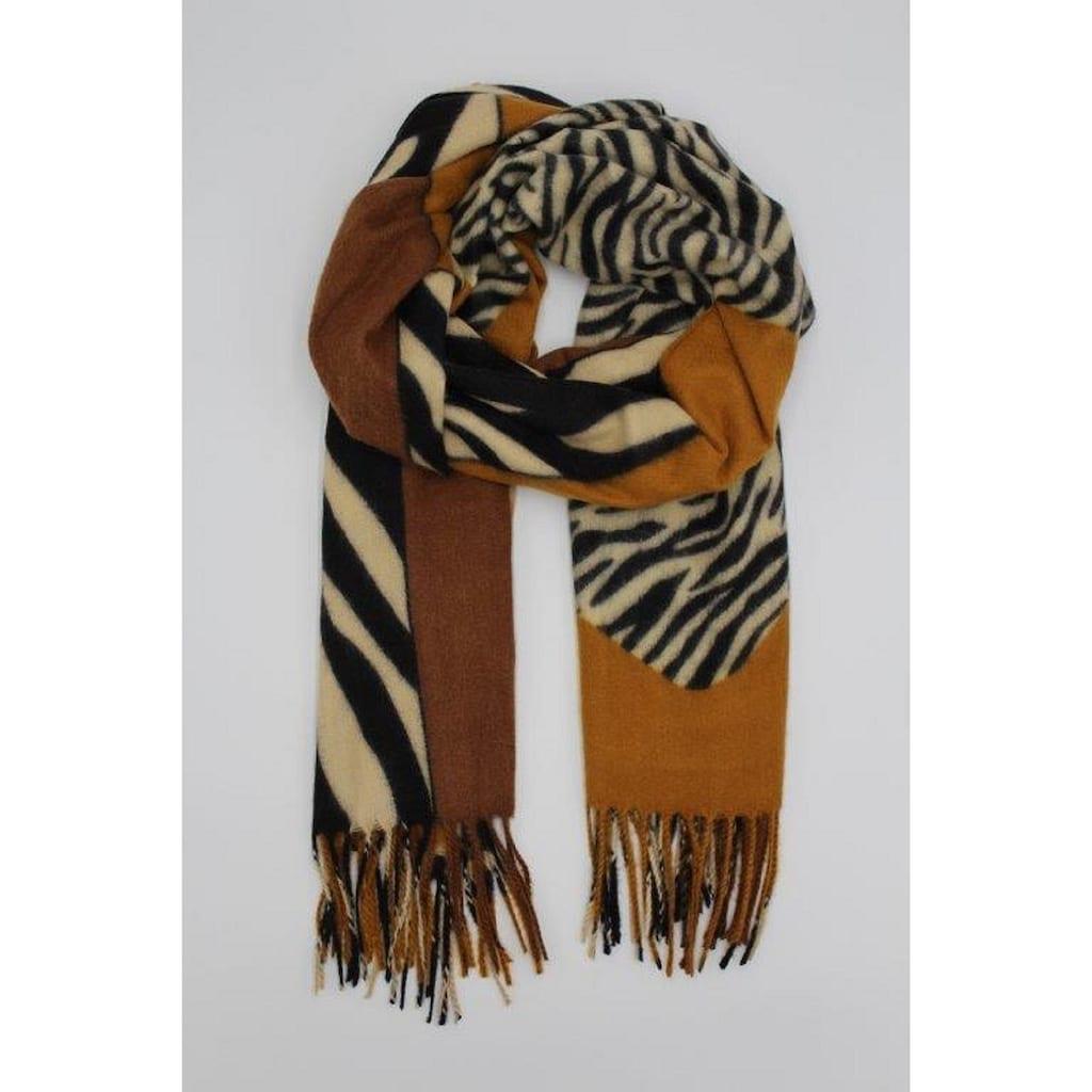 leslii Schal, in tollem Zebra-Look