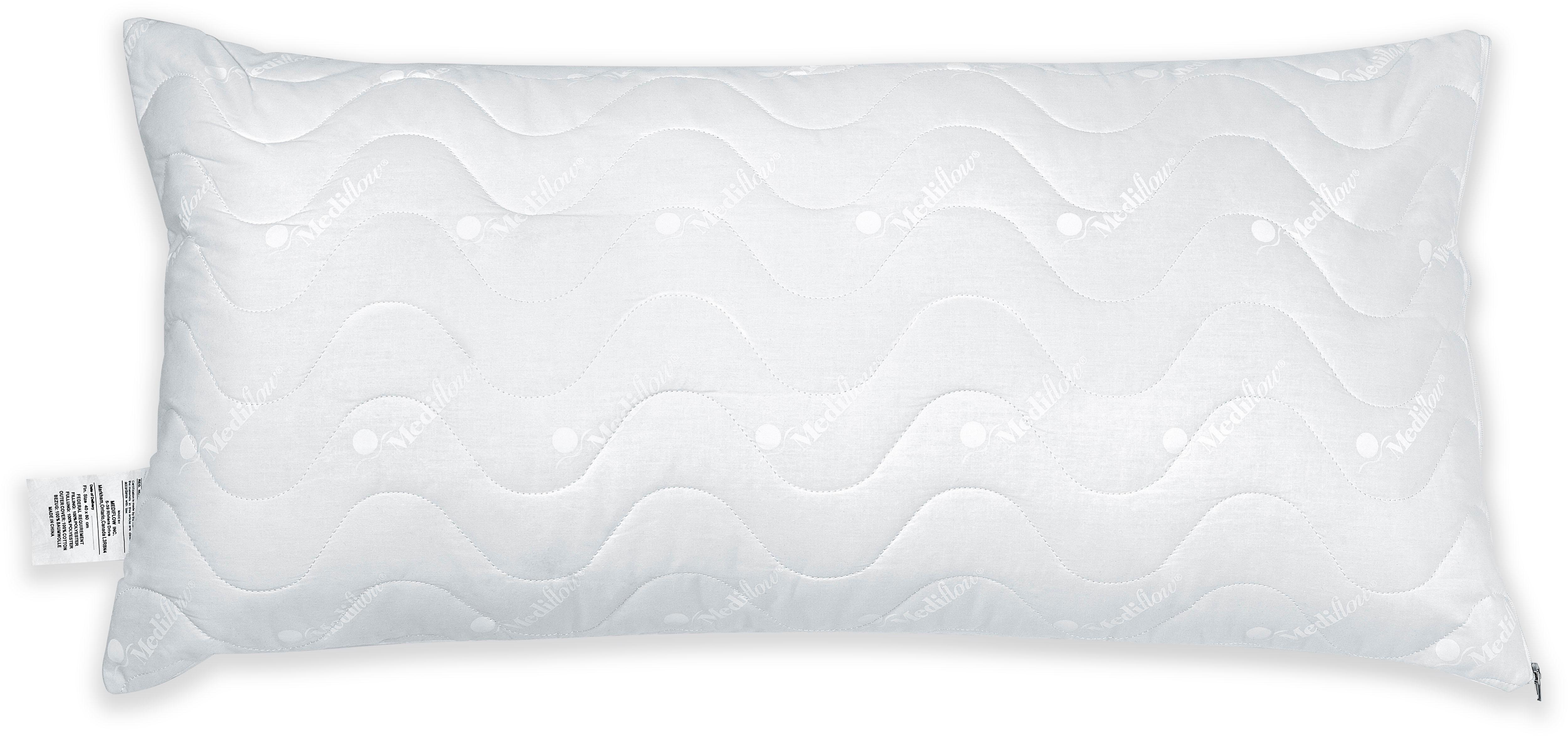 Wasserkissen Mediflow gesteppter Luxus Schonbezug 5020 40x80cm Mediflow Bezug: 100% Baumwolle