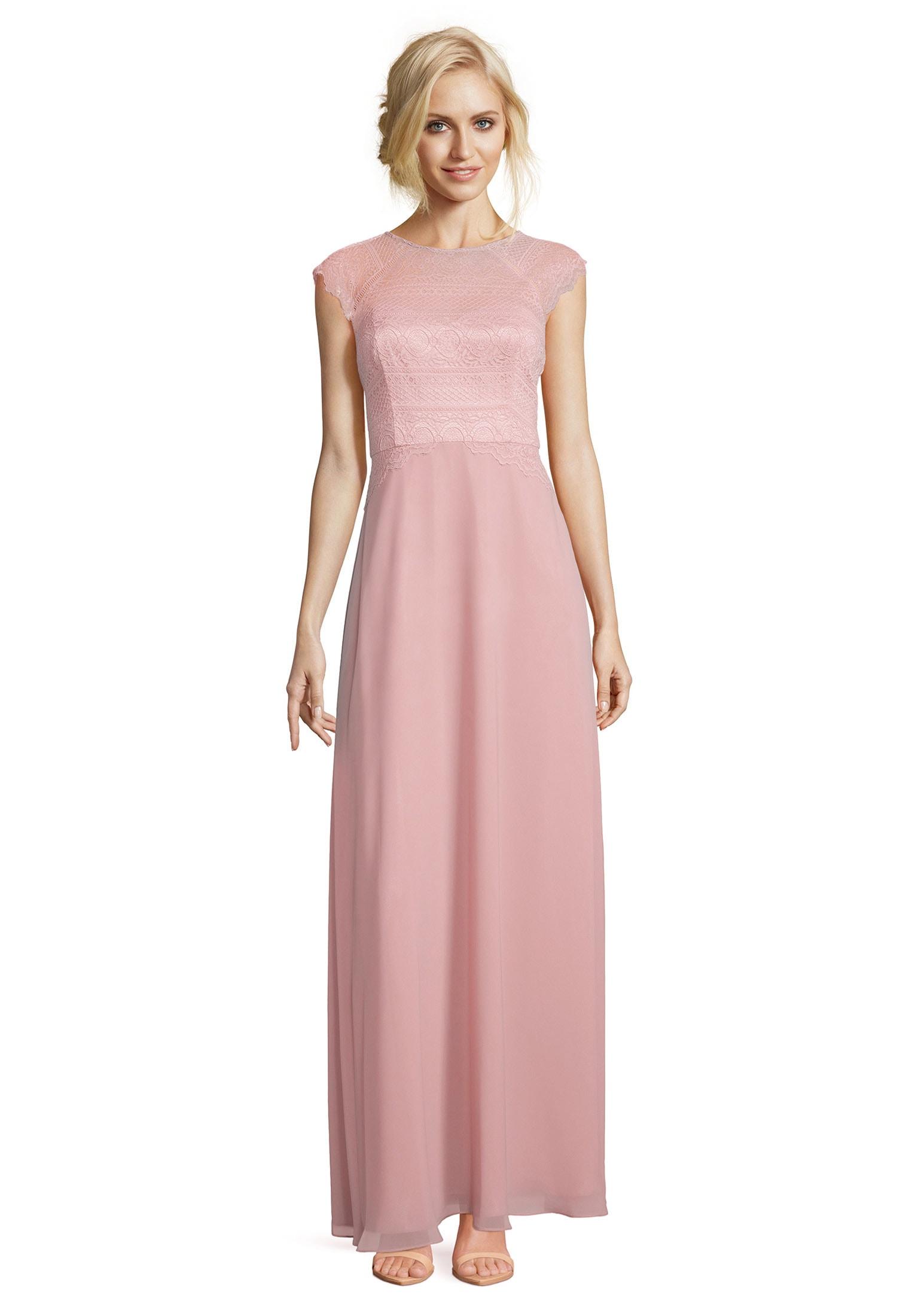 vera mont -  Abendkleid mit überschnittenen Ärmeln