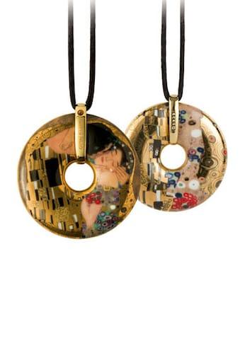 Goebel Kette mit Anhänger »Der Kuss, Artis Orbis Gustav Klimt, 66989575«, mit Swarovski® Kristall kaufen