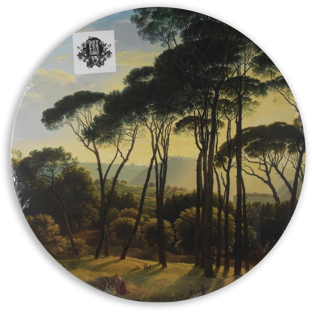 Art for the home Leinwandbild »Italienische Landschaft«, (1 St.)