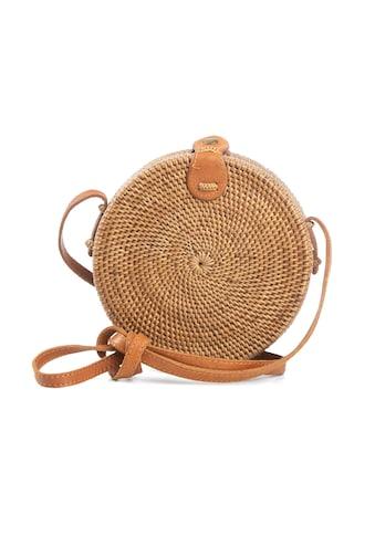 CASSANDRA Korbtasche in runder Form kaufen