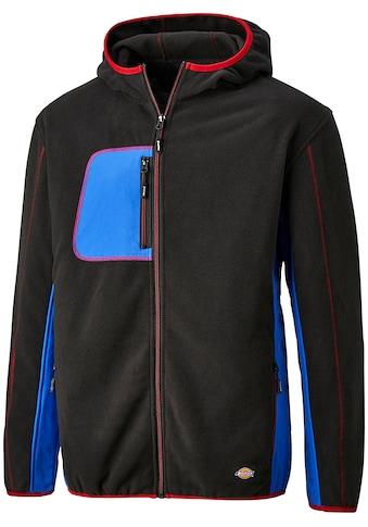 DICKIES Fleecejacke »Pembroke«, schwarz - blau, unisex kaufen