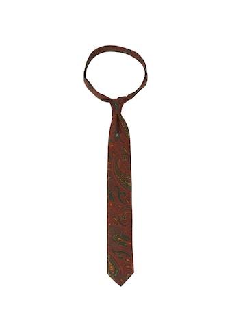 seidensticker Krawatte »Schwarze Rose«, Breit (7cm) Paisley kaufen
