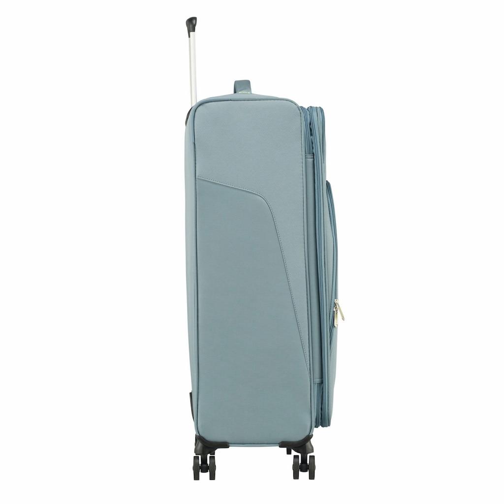 American Tourister® Weichgepäck-Trolley »Summerfunk, 79 cm«, 4 Rollen, mit Volumenerweiterung