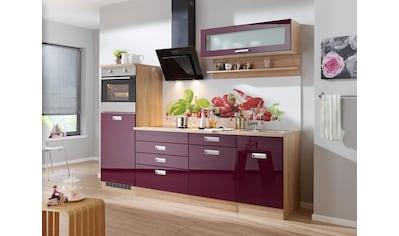HELD MÖBEL Küchenzeile »Fulda«, mit E-Geräten, Breite 240 cm kaufen