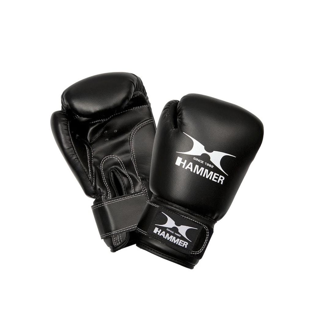 Hammer Boxsack »Junior«, (Set, 2 tlg., mit Boxhandschuhen)