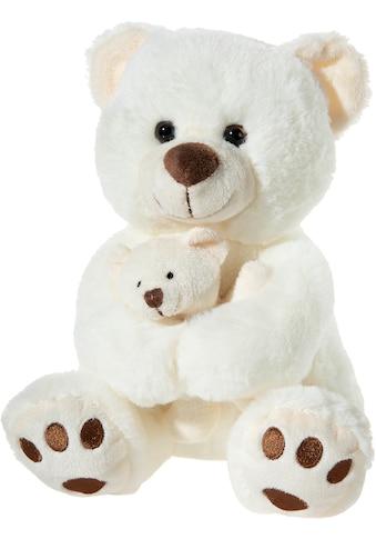 """Heunec® Kuscheltier """"Bär mit Baby, creme"""" kaufen"""
