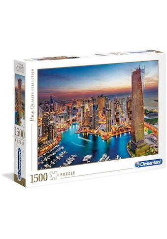 """Clementoni® Puzzle """"Yachthafen von Dubai"""" kaufen"""