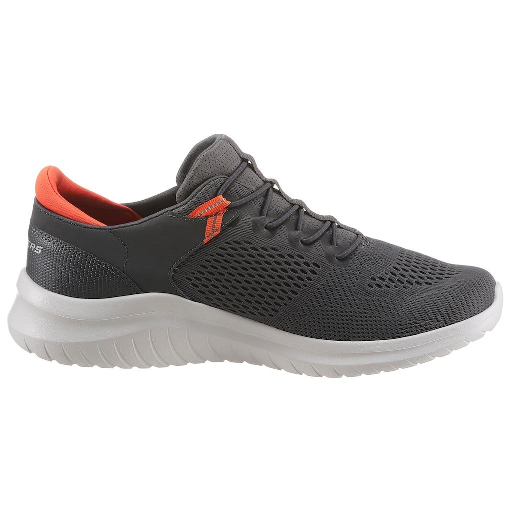 Skechers Slip-On Sneaker »ULTRA FLEX 2.0«, mit gepolstertem Fersenpart