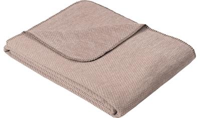 IBENA Wolldecke »Jacquard Decke Auckland«, GOTS zertifiziert - nachhaltig aus... kaufen
