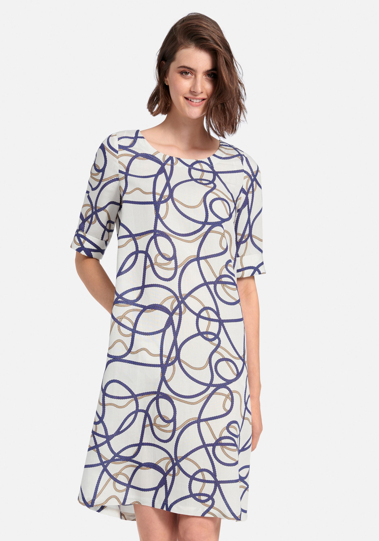 peter hahn -  Sommerkleid Kleid mit 1/2-Arm, .
